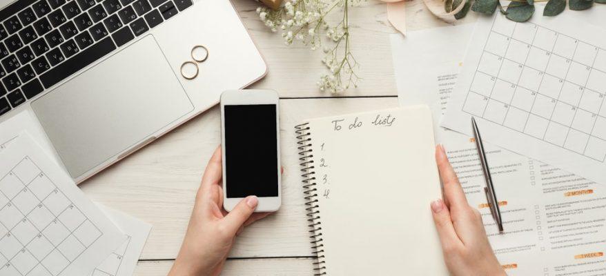 creare un planner settimanale da parete